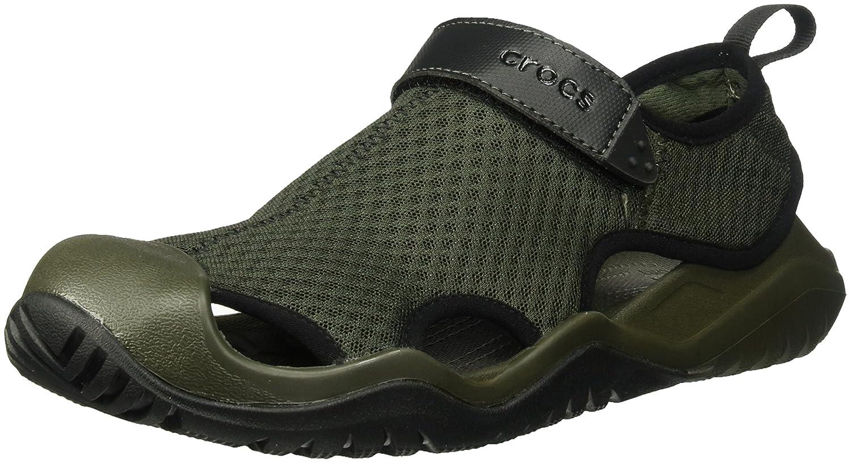 Crocs Men's Swiftwater Mesh Deck Sandal Sport P205289