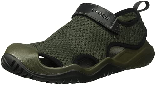 59209ed7f669cf Crocs Men s Swiftwater Mesh Deck Sandal Sport  Amazon.co.uk  Shoes ...