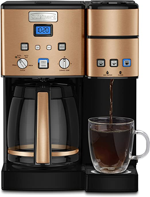 Amazon.com: Cuisinart Maker Coffee Center - Cafetera de 12 ...
