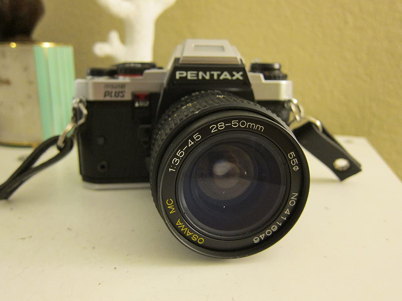 Pentax Super Program 35mm SLR Film Camera with SMC Pentax-A 1:2 50mm Lens Pentax Corporation Japan Pentax Super Program 35mm Film Camera