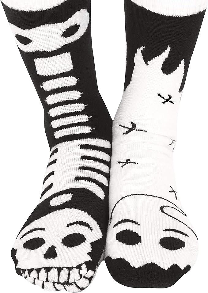 Glow Skeletons Ankle Socks