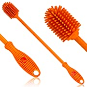"""Kitchiny Silicone Bottle Brush 