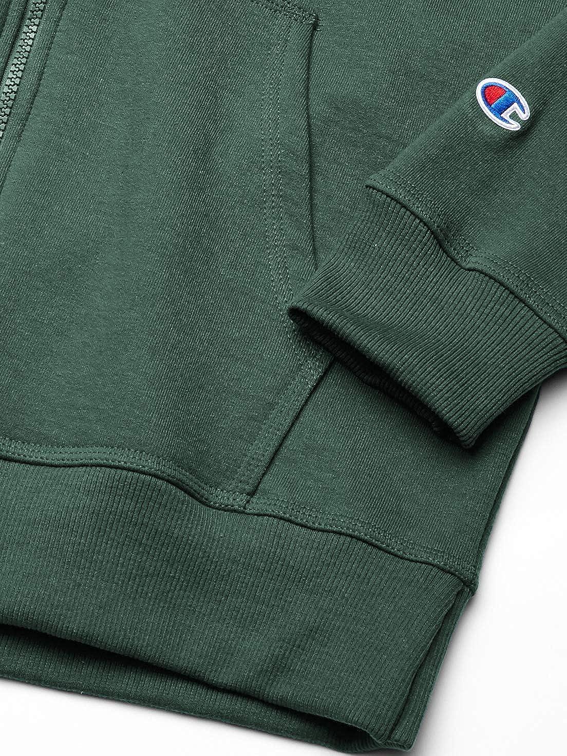 Champion Mens Powerblend Full-Zip Hoodie Warm Up or Track Jacket