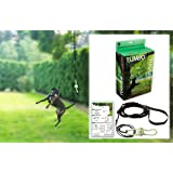 Tumbo Tugger Outdoor Hanging Doggie Bungee Rope Toy, Large