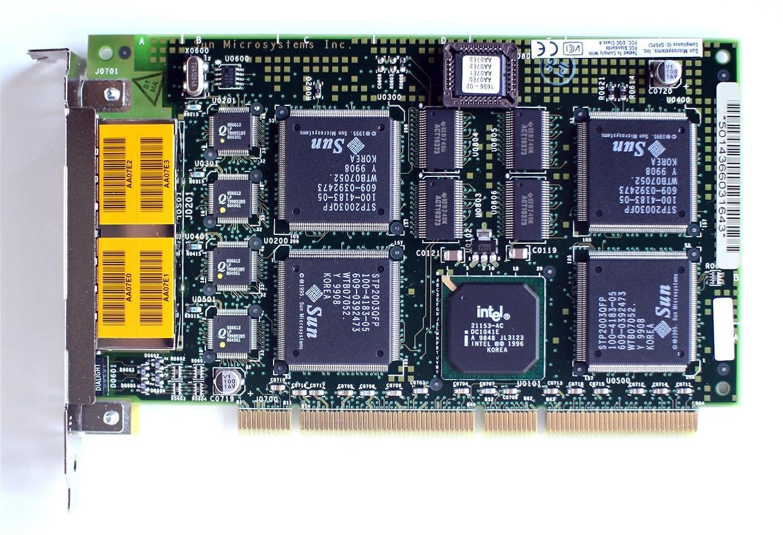 SUN 501-4366 PCI Quad FastEthernet Card 270-4366-04 rev 02