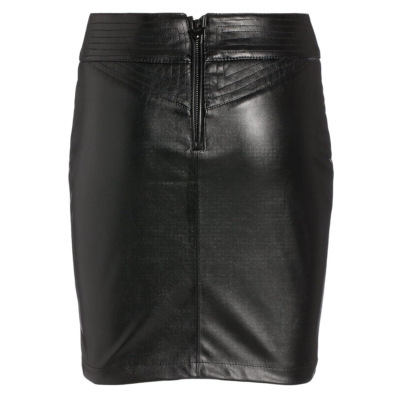 Guess Vienna, Falda para Mujer, Negro (Noir/Jet Black A996 ...