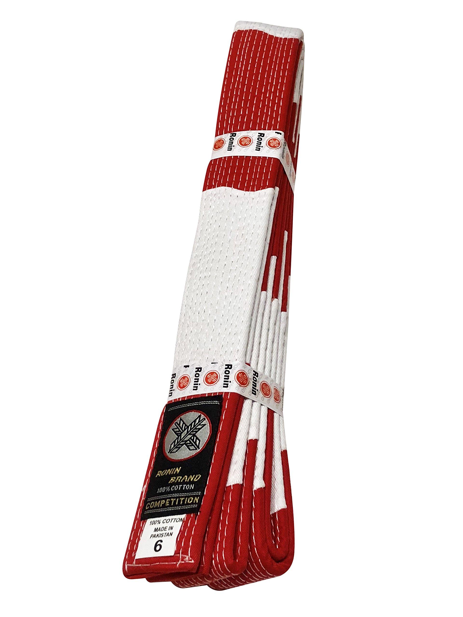 Rokudan Martial Arts Masters Rank Belt. Sixth & Seventh Degree Rank for Karate, Judo & Jujitsu. ... (5) by Ronin Brand