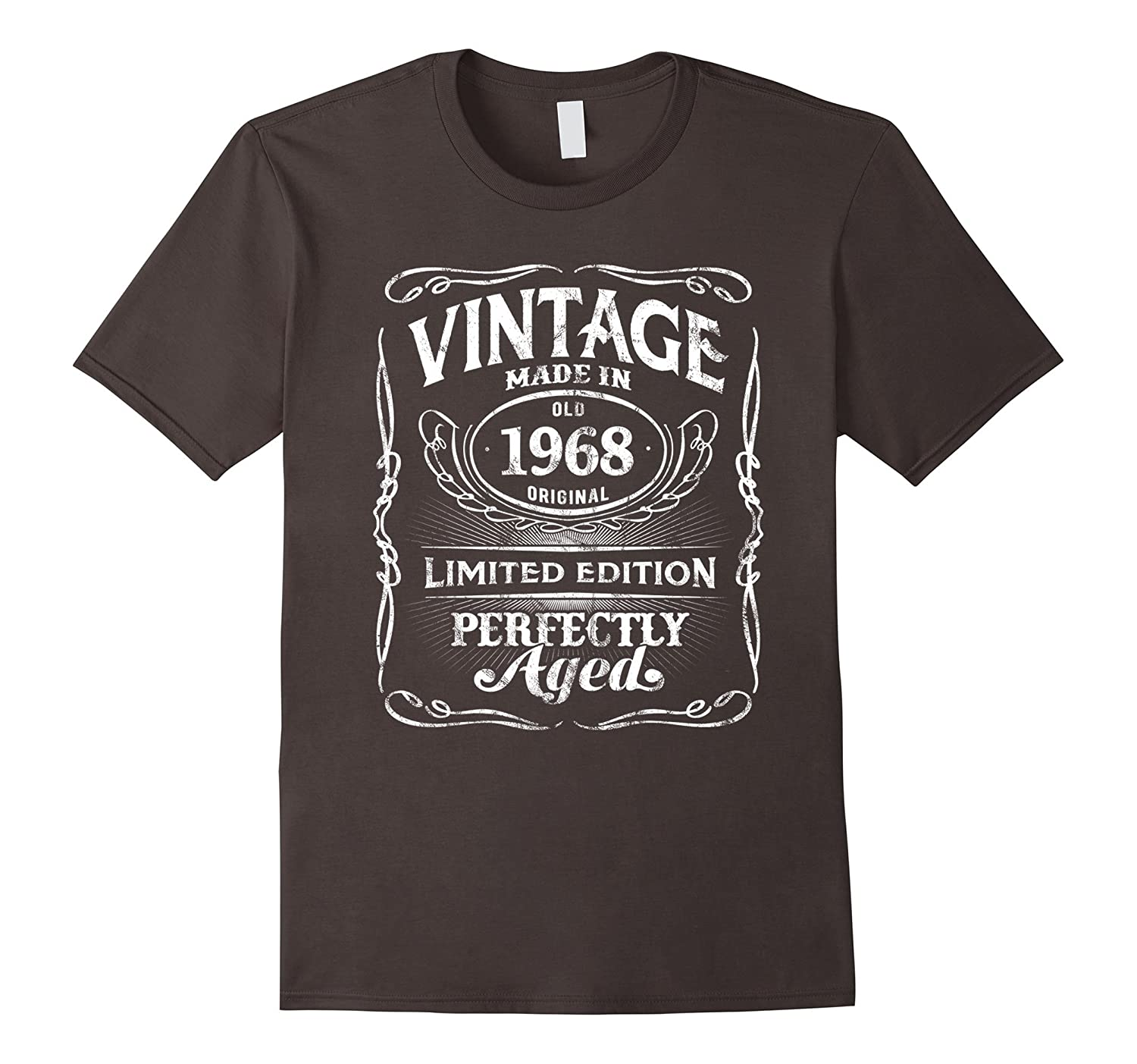 Vintage Premium Made In 1968 T-Shirt 50th Birthday Gift-ah my shirt one gift