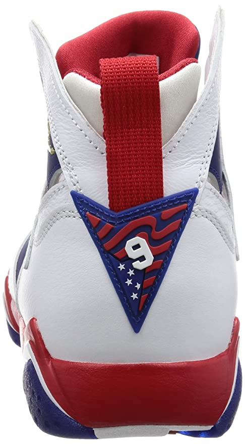 promo code 45e2d b7c55 Amazon.com  Nike Mens Air Jordan 7 Retro Tinker Alternate White Metallic  Gold-Deep Royal Leather Size 12  Jordan  Sports   Outdoors