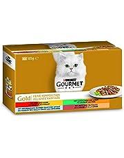Purina GOURMET Gold Feine Komposition: Katzennassfutter, hochwertige Tiernahrung für ausgewachsene Katzen, Dose
