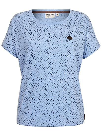 Naketano Damen T Shirt Detroit House VI T Shirt