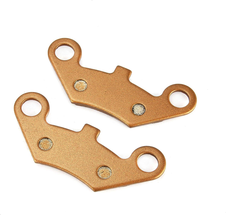 Un par de Pastillas de Freno Delanteras y traseras Xin de 96,96 x 37,25 x 7,15 mm para AJS CF Moto Explorer GOSE LINHAI Force QUADS Peugeot QUADZILLA W.T.Motors