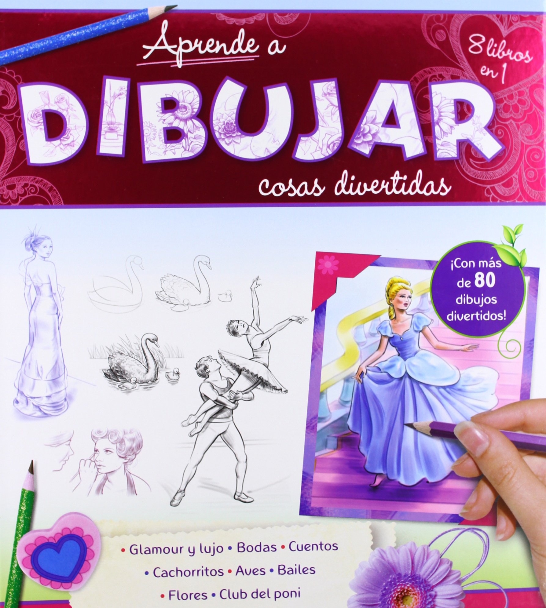 Aprende a dibujar cosas divertidas (Spanish) Hardcover – March 25, 2014