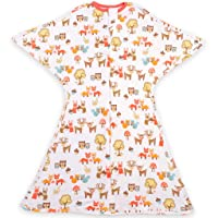 SleepingBaby Woodlands Zipadee-Zip Swaddle Transition Baby Swaddle Blanket with...