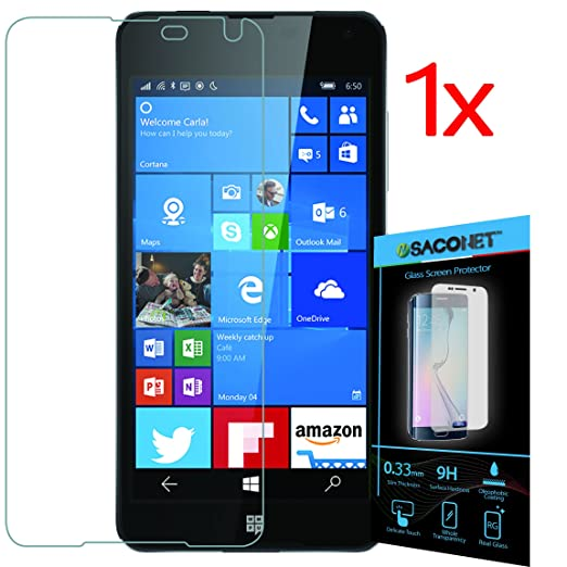 12 opinioni per Lumia 650 1x pellicola vetro temperato display per smartphone Microsoft Nokia