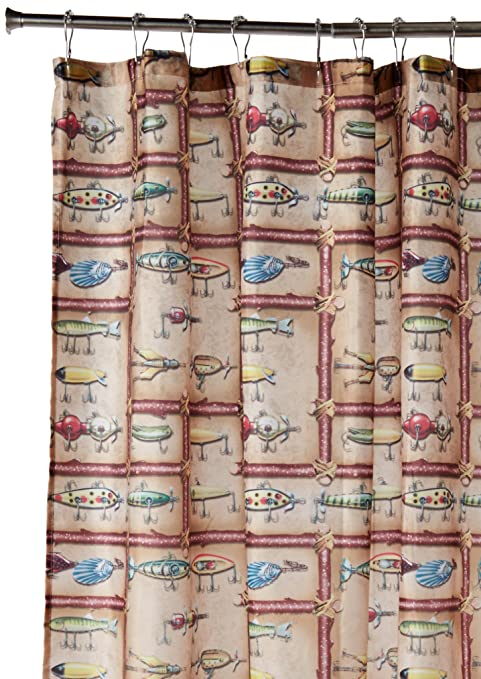 Image Unavailable Not Available For Color REP Antique Lure Showercurtain 760