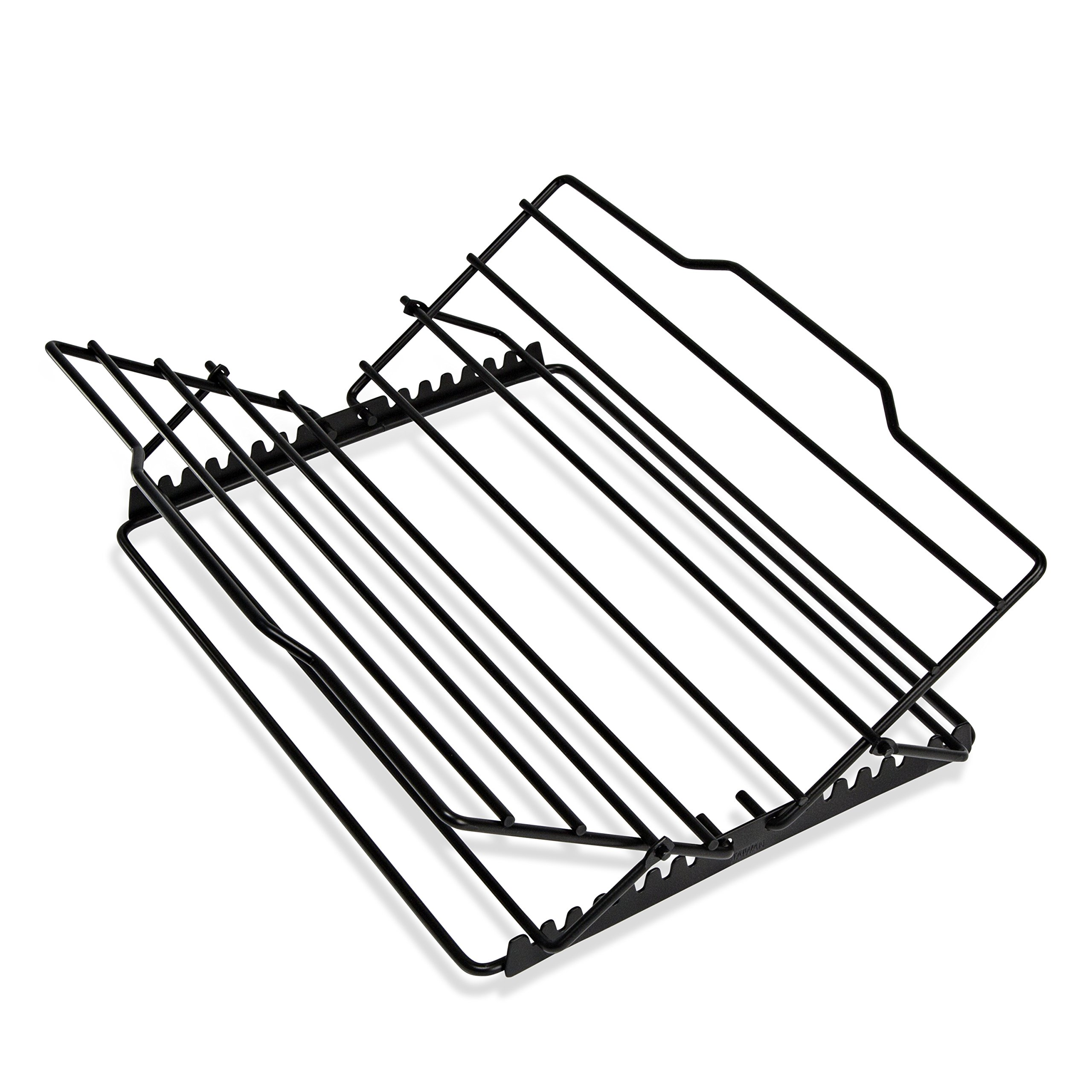 Honey-Can-Do 2555 Non-stick Adjustable Kitchen Supply Roasting Rack, 0.75-Inches H x 10.75-Inches W by Honey-Can-Do