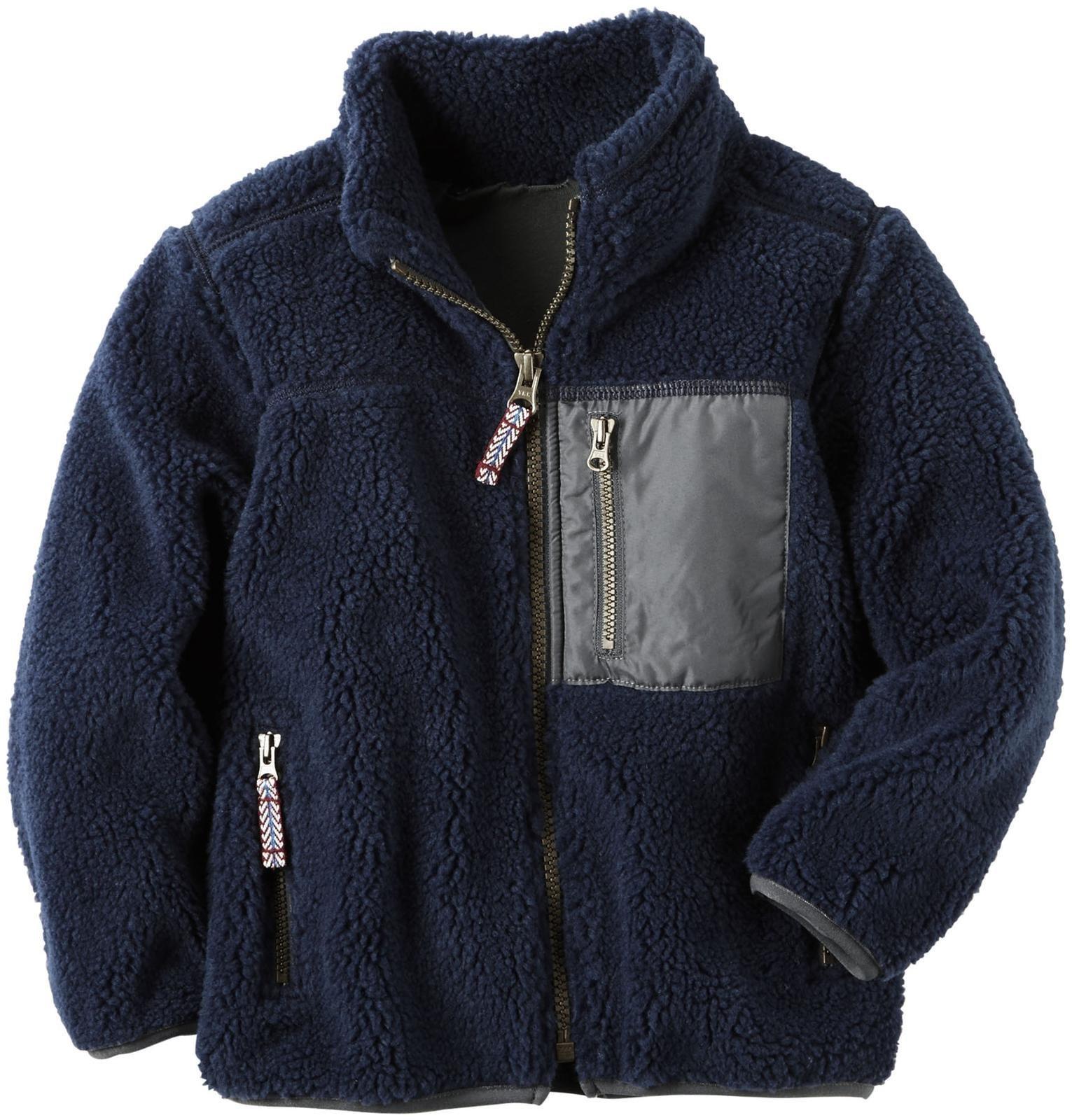 Carter's Boys' Knit Layering 263g576, Navy, 8
