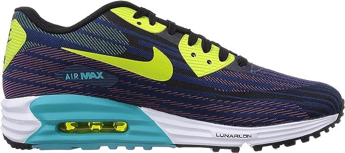 Nike 654468-002, Zapatillas de Running para Hombre, Black/Farc Green, 45 EU: Amazon.es: Zapatos y complementos