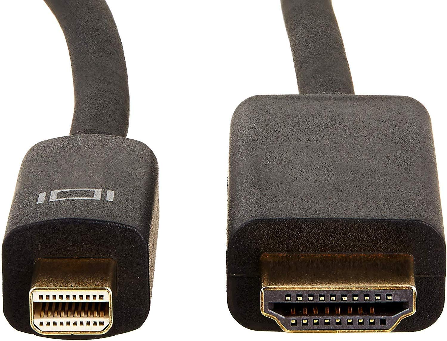 AmazonBasics Mini DisplayPort to HDMI Display Adapter Cable - 6 Feet