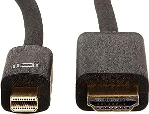 AmazonBasics Mini DisplayPort to HDMI Cable - 6 Feet