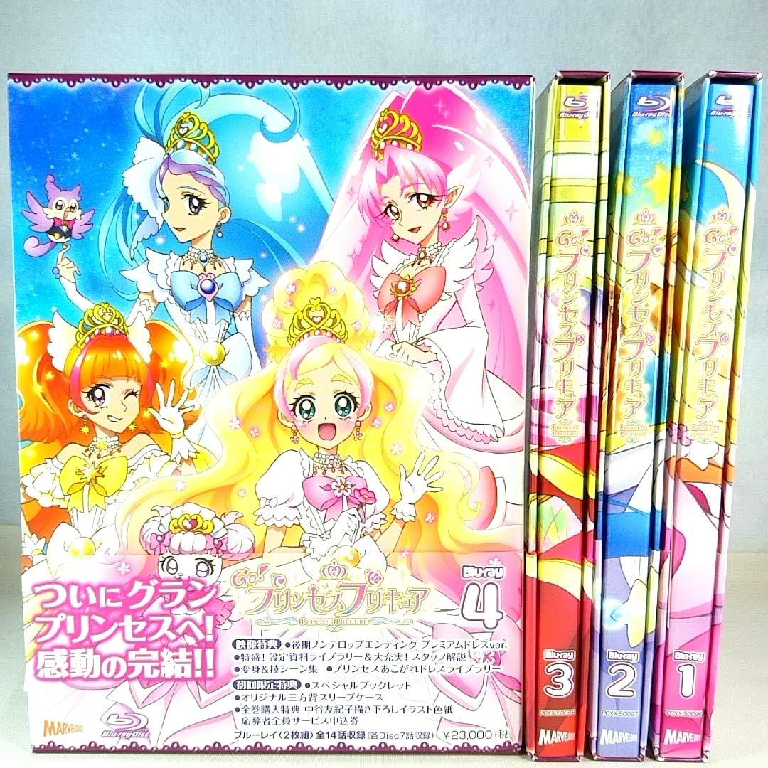 特典全付 Go!プリンセスプリキュア 全巻1~4巻)Blu-rayセット   B07R3QX6XD
