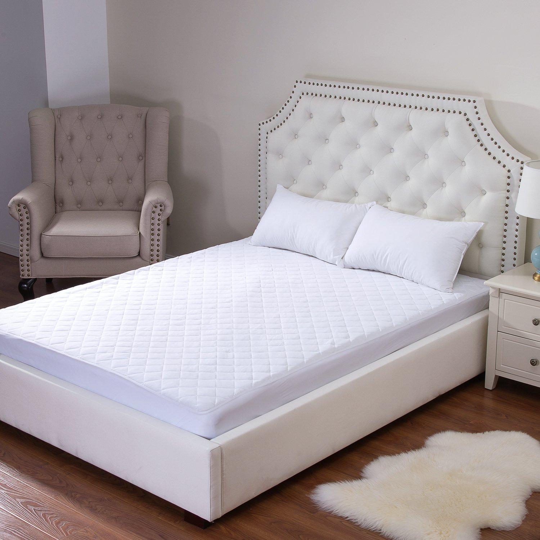 Millenium lino - Protector de colchón (impermeable no tejido poliéster - Cama Bug resistente: Amazon.es: Hogar