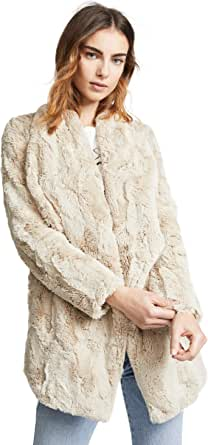 Jack by BB Dakota Junior's Warm Thoughts Soft wubby Drape Front Jacket