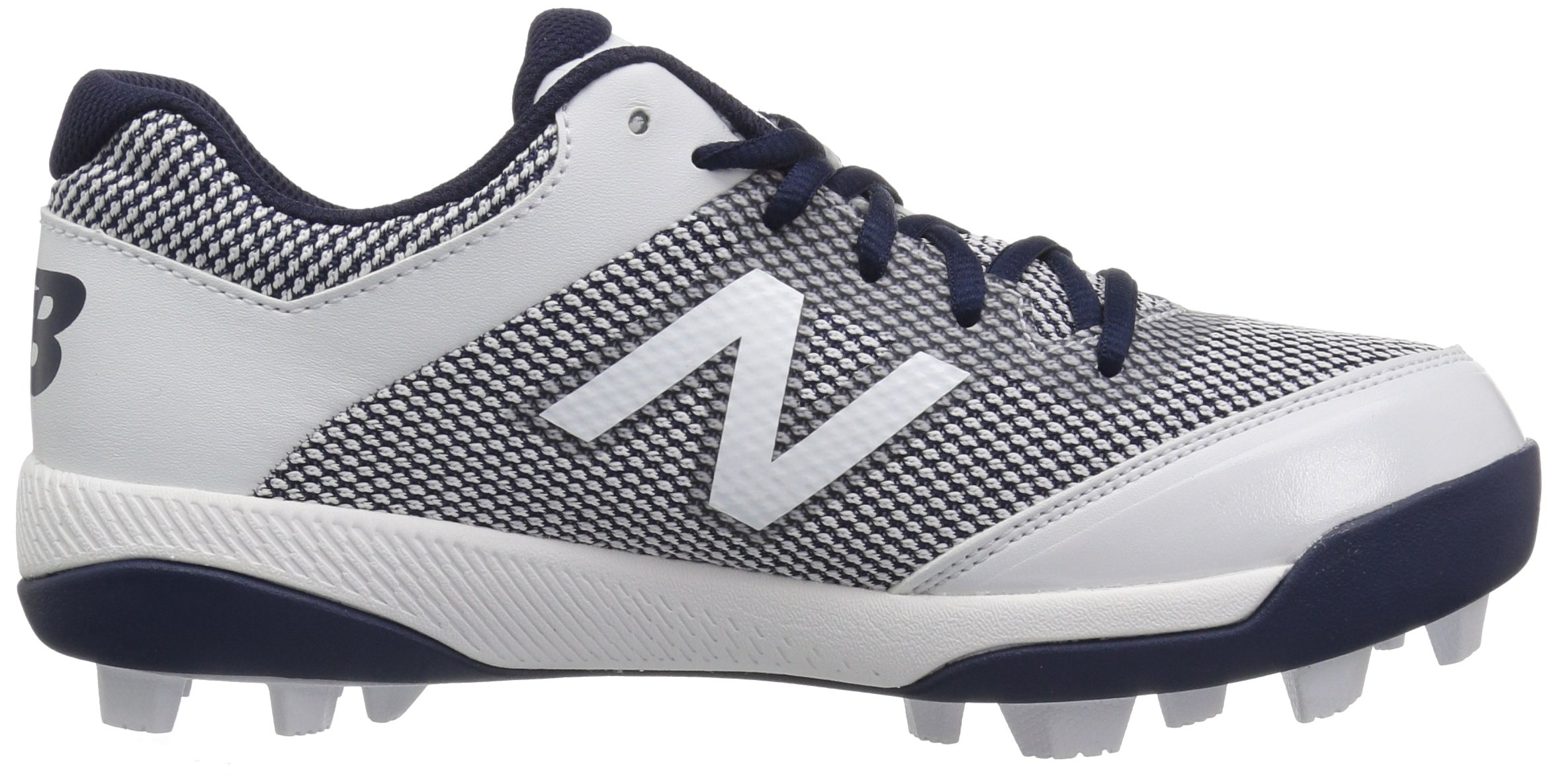 New Balance Boys' 4040v4, Navy/White, 1 W US Little Kid by New Balance (Image #7)