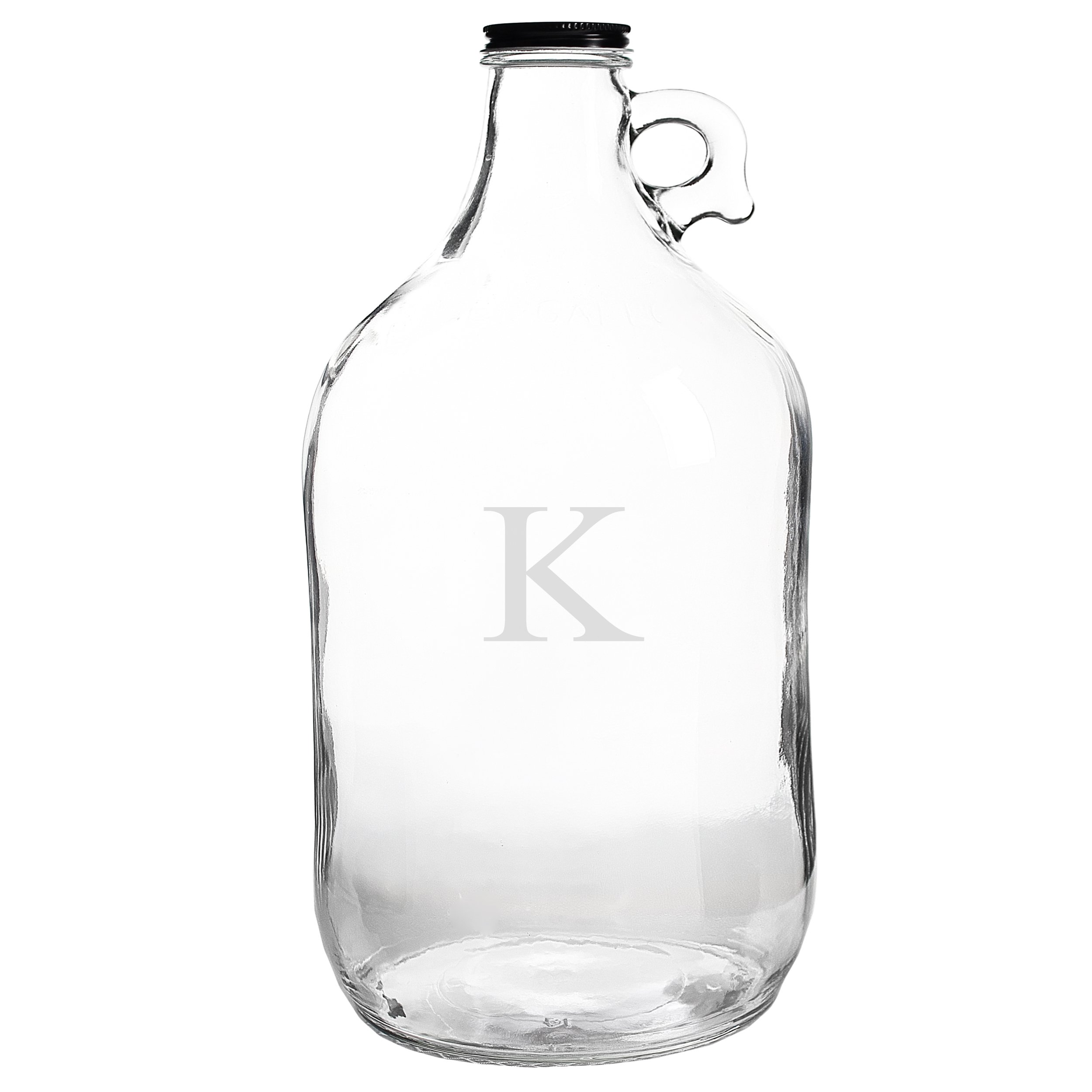 Cathy's Concepts Personalized Craft Beer Growler, Letter K