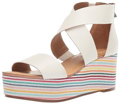 36c84621c10 Lucky Brand Women's Gwindolin Espadrille Wedge Sandal
