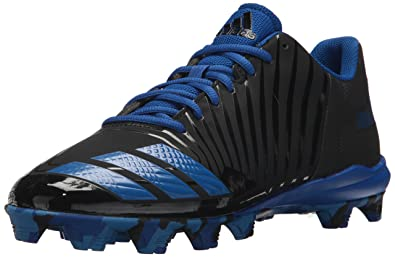 adidas Performance Men's Icon MD Baseball-Shoes, Core Black, Bright Royal, Collegiate