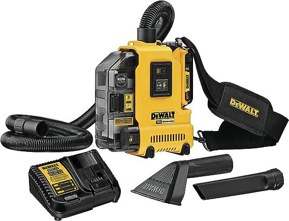 DeWalt - Kit de extractor de polvo (20 V, sin escobillas ...