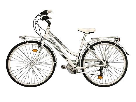 Bici Da Città City Bike 28 Welter Active Colore Grigio Ultralight