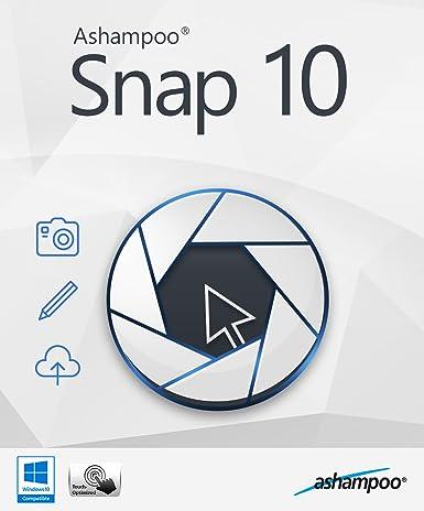 برنامج تصوير شاشة سطح مكتب الكمبيوتر Ashampoo Snap 10.0.4