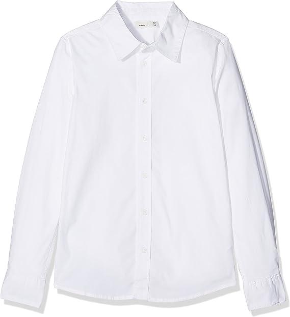 NAME IT Jungen Nitfred Ls Slim Shirt M NMT Noos Hemd