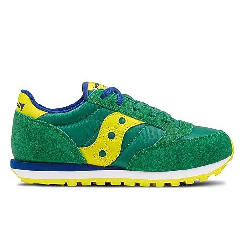 scarpe sportive 93584 535c6 Saucony Jazz Original Scarpe Sneaker Bambino Verde SC59133 ...