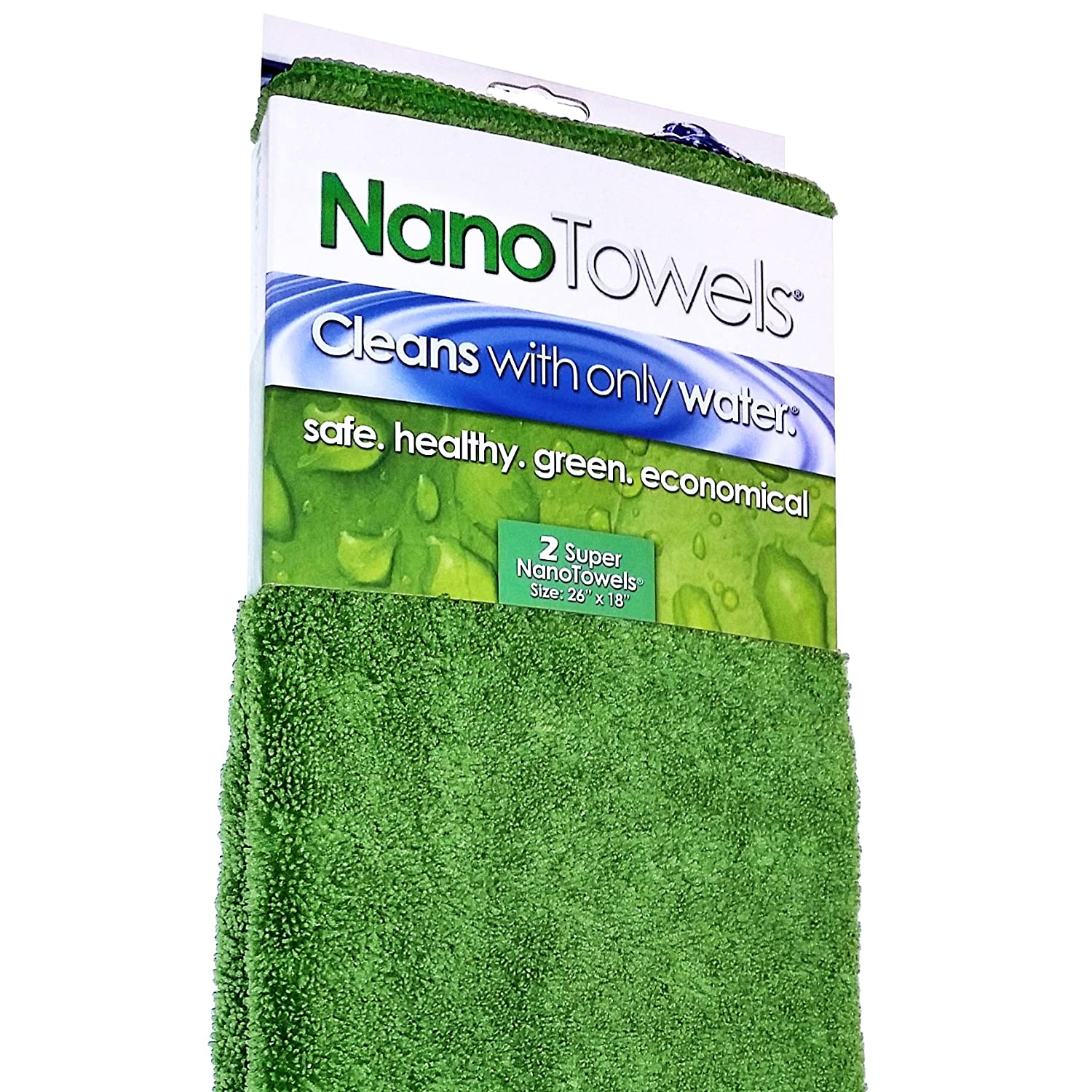 amazon com dish cloths dish towels home kitchen nano towels supersized version the breakthrough fabric that replaces paper towels and toxic chemical cleaners use as bath towels kitchen towels etc