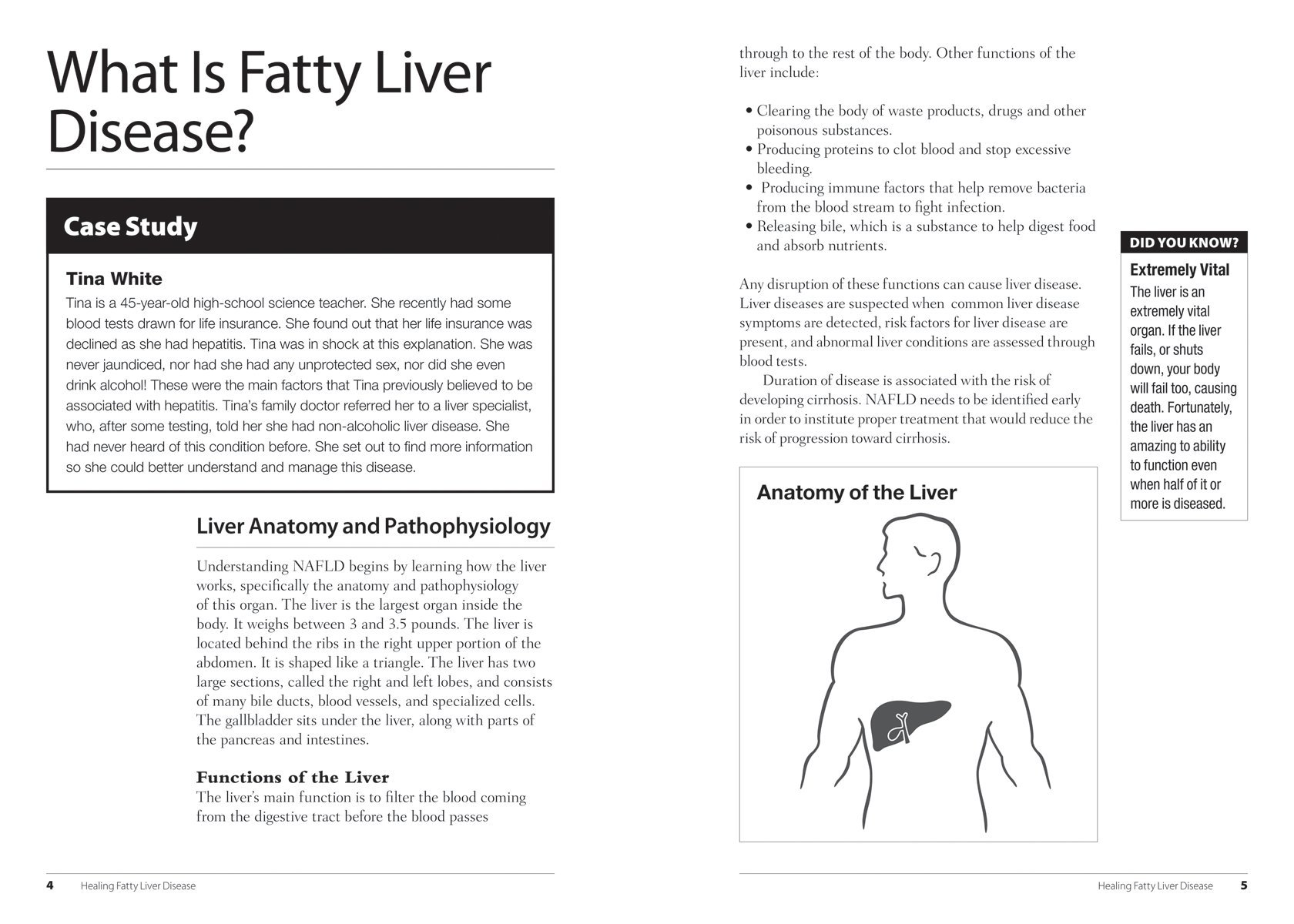 Healing Fatty Liver Disease A Complete Health And Diet Guide