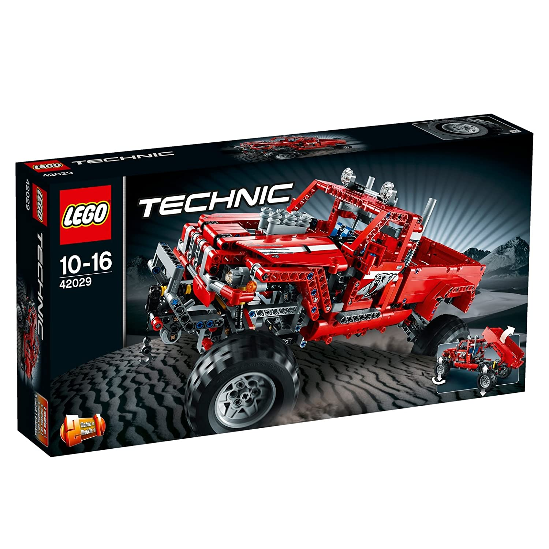 LEGO Technic Vehículo de juguete color rojo