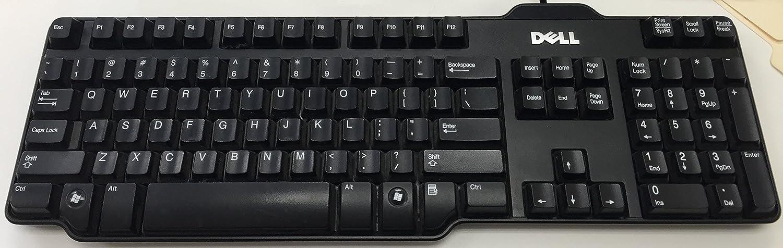 Dell OEM Genuine USB 104-key Black Wired Keyboard (RH659 L100 SK-8115)