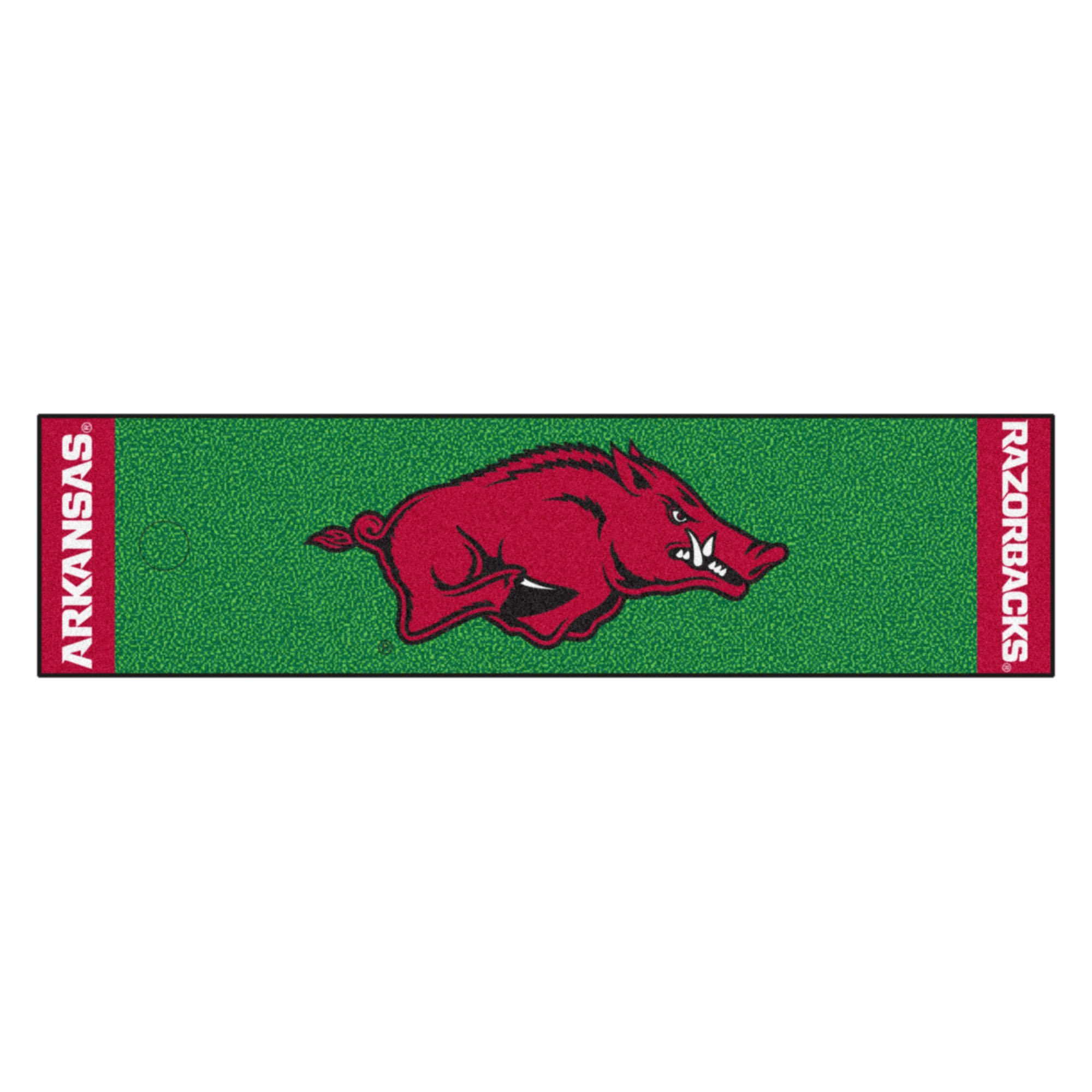 NCAA University of Arkansas Razorbacks Putting Green Mat Golf Accessory by Unknown (Image #1)