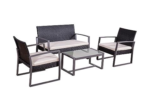 Jet-Line Conjunto de Muebles Juego de Muebles de Jardin ...