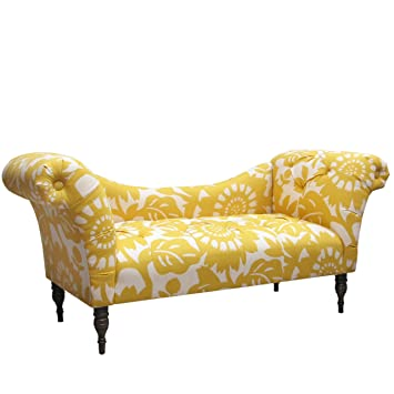 Skyline Furniture Tufted Chaise Lounge, Gerber Sungold