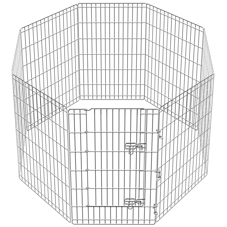 Gran Playpen Jaula de Jardín para perros y cachorros desplegable para interiores/exteriores y cubierta gratis en 2 tamaños.: Amazon.es: Productos para ...