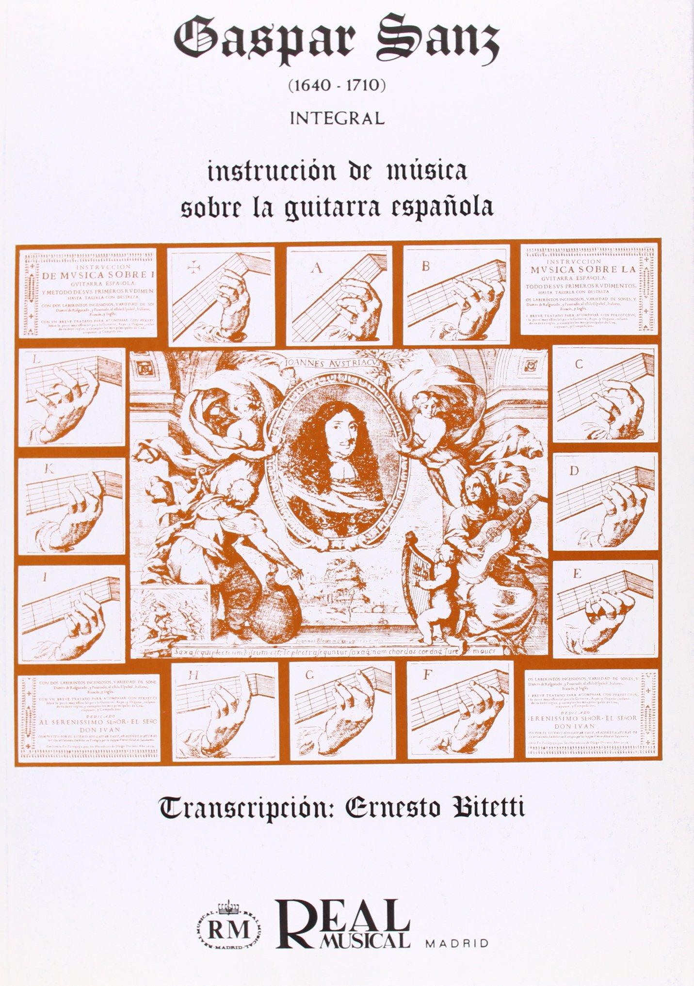 Instrucción de Música sobre Guitarra Española Integral: Amazon.es ...