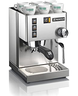 Amazon Com Rancilio Hsd Roc Ss Rocky Espresso Coffee Grinder With Doser Chamber Kitchen Dining