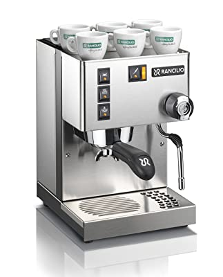 Rancilio Silvia Espresso Machine with Iron Frame and Stainless Steel Side Panels Review