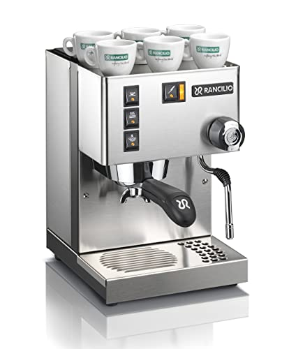 Rancilio-Silvia-Espresso-Machine-with-Iron-Frame-and-Stainless-Steel-Side-Panels