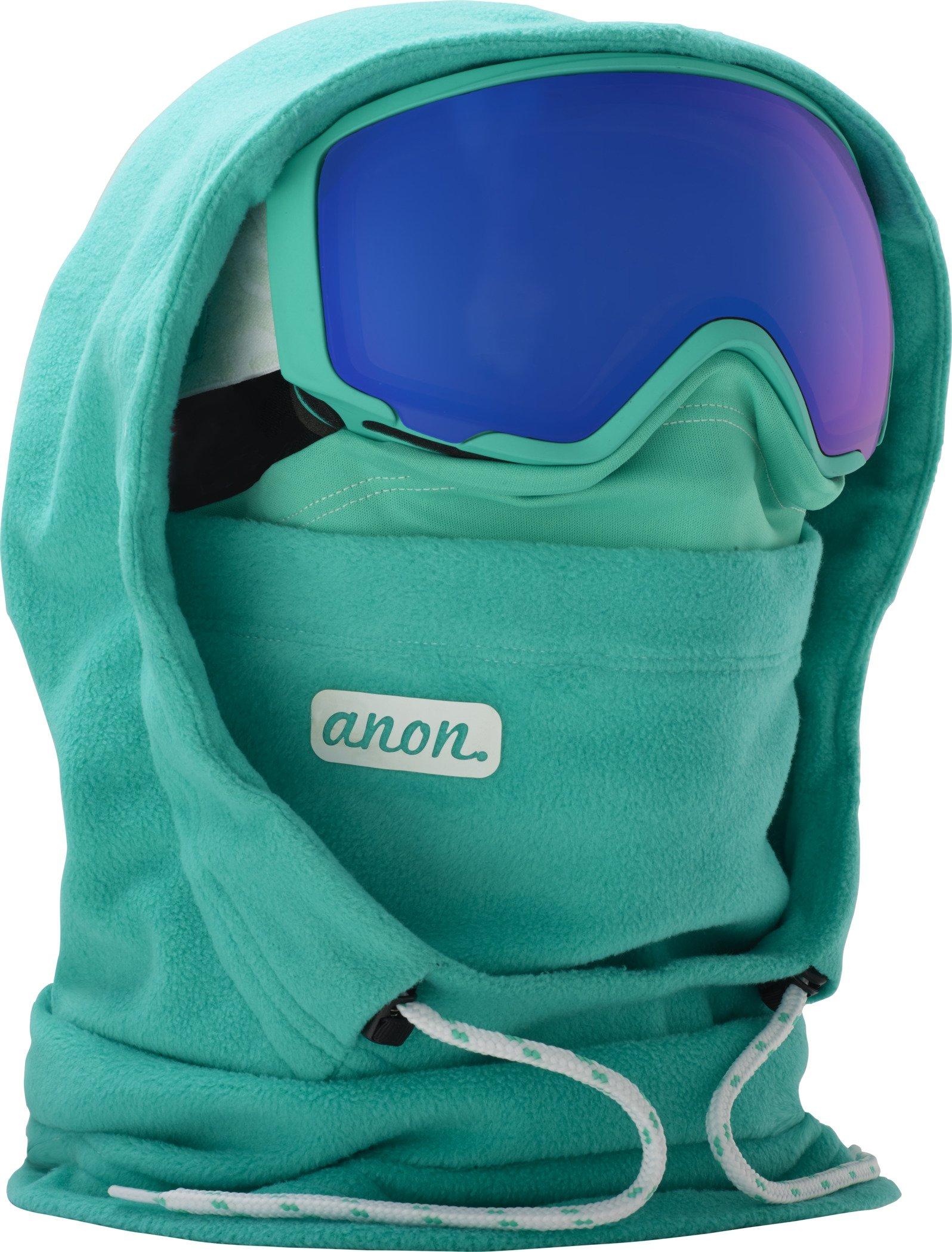 Anon MFI XL Helmet Hood Womens Balaclava One Size Empress Teal